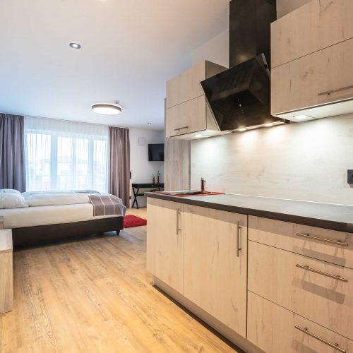 Prim Loge Appartment mit Küche